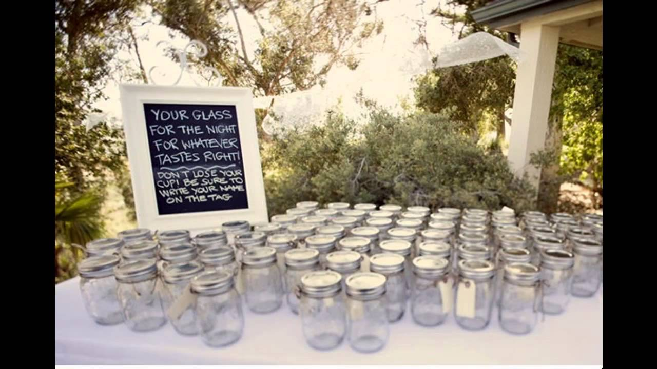 Simple diy wedding reception decor ideas youtube for Simple wedding decorations for reception