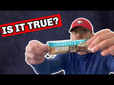 Is it True What They Say? �� MYPROTEIN Layered Protein Bar Review