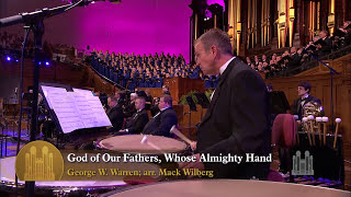 Watch Mormon Tabernacle Choir God Of Our Fathers Whose Almighty Hand video