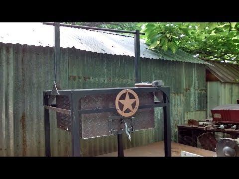 Santa Maria grill build (pt 1/2)