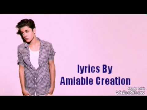 Justin Bieber-Every Minute lyrics by Amiable Creation.
