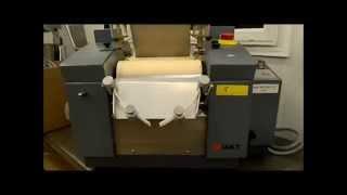 Exakt 80 three roll mill, mfg 2011 - 8/21/14 AUCTION Lot 8