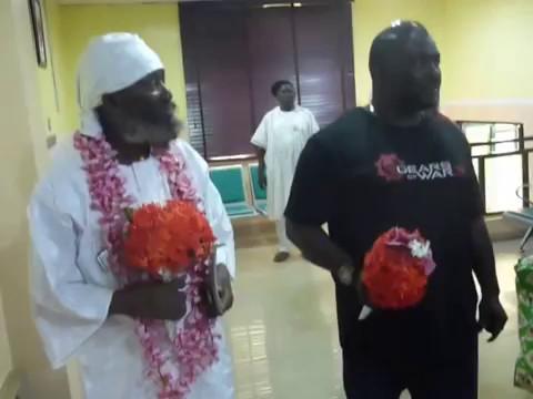 Sat Guru Maharaj Entrance To Fresh FM Ibadan - YouTube