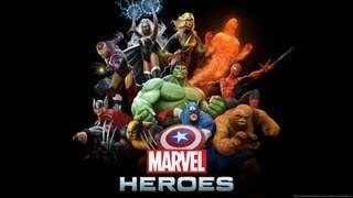 """Marvel Heroes - Episode 1 - """"i Am Ironman!"""" - Beta Gameplay W/ Comment"""