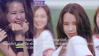 What will happen with natty after Idol School