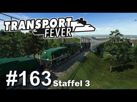 Transport Fever S3/#163: 3rd Person-Mitfahrt beim 1,1km-Zug [Let's Play][Gameplay][German][Deutsch]