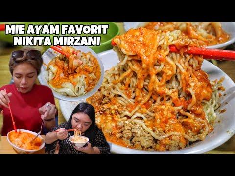 Endolita Mie Ayam Favoritnya Nikita Mirzani Mie Ayam Banyumas Sunja Di Binong Tangerang Youtube