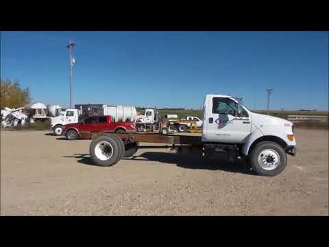 2000 Ford F650 truck cab and chassis for sale | no-reserve Internet auction November 30, 2017