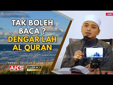 Larangan Mendengar Al-Quran | Sirah | Ustaz Wadi Annuar