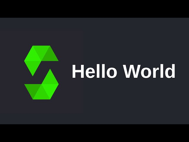 Learn Solidity (0.5) - Hello World