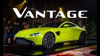The New 2019 Aston Martin Vantage Launched in Philippines