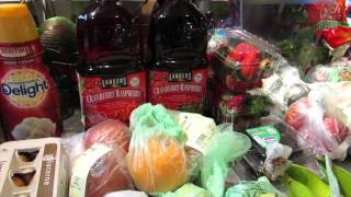 Review - Safeway Grocery Delivery and healthy food haul