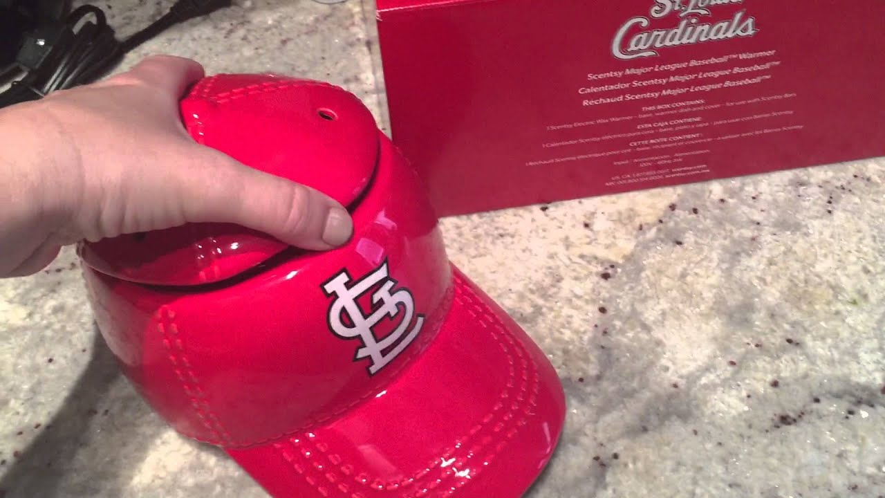 ee775bfcec8 Scentsy MLB Major League Baseball Warmer Limited Edition St Louis Cardinals  Spring Summer 2015