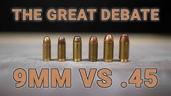 9mm vs .45 - why are people still debating this?
