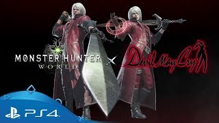 Monster Hunter: World | Devil May Cry | PS4