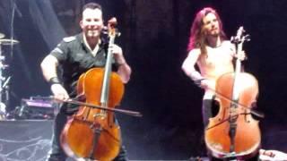 Apocalyptica - I Don't Care - Bogotá 22 de Enero 2012