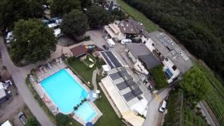 Hubschrauberflug übern LernCamping Moosbauer