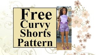 Tutorial With FREE Pattern for Curvy Barbies , Lammily or Tammy Dolls