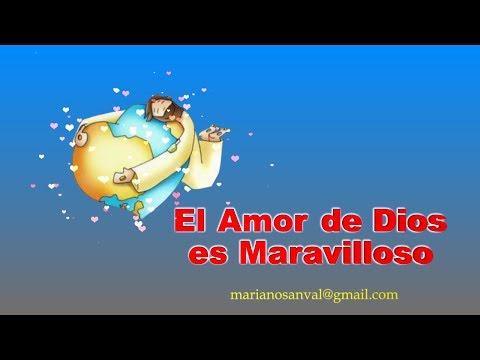 EL AMOR DE DIOS ES MARAVILLOSO (VERSION KARAOKE CON VOZ GUIA) KARAOKE KIDS