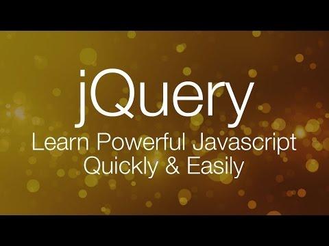 JQuery Tutorial #1 - JQuery Tutorial For Beginners