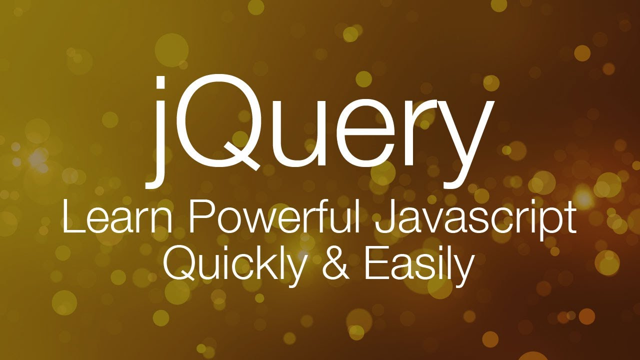 jQuery Tutorial #1 - jQuery Tutorial for Beginners by LearnCode.academy