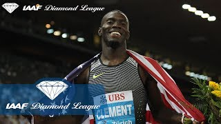 Kerron Clement on modelling, being in a Beyonce video and adoring Mariah Carey - IAAF Diamond League