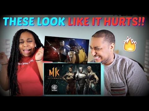 "Mortal Kombat 11: ""Aftermath"" Official Gameplay Trailer REACTION!!!"