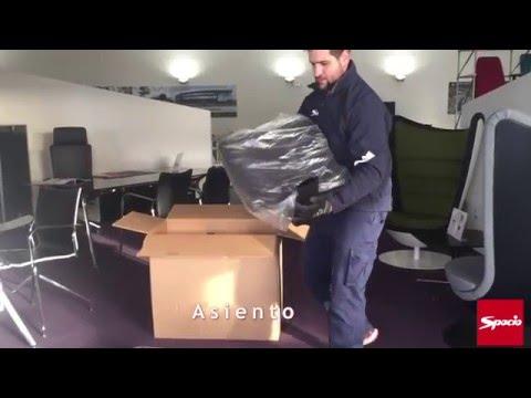 Silla LightSillas Spacio Oficina Montaje De Youtube Jc3KTFl1