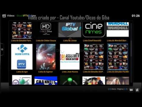 Kodi - Novo Addon - IPTV-Brasil-Online
