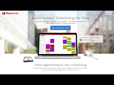 Reservio - Free Online Appointment Scheduling Software|Online Booking|Reservation System|Calendar