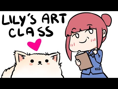 Lily's ART CLASS :D - temmie & scarra