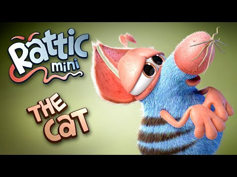 Funny Cartoon | Rattic Mini–The Cat | Funny Cartoons For Children&Kids