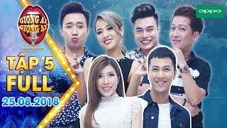 Giọng Ải Giọng Ai Mùa 3 (Tập 5 Bản Full HD): Trấn Thành, Trường Giang