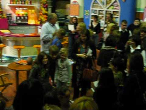 Cole Sprouse, Debby Ryan and Matthew Timmons on the set of The Suite Life on Deck 13009