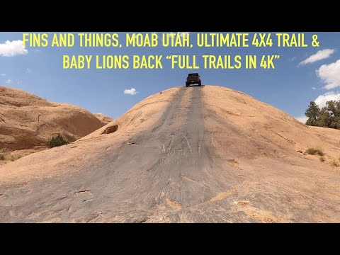 Fins and Things, Moab, Epic Adventure, 4X4 Trail in JL Jeep Rubicon, Full Course & Bonus Time
