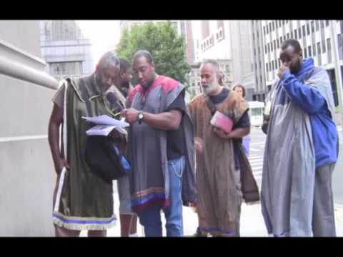 PT2 ELDERS OF GMS ON LOCATION AFRICAN BURIAL GROUND