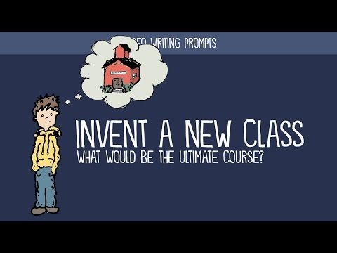 Creative Writing Prompt: Invent a New Class