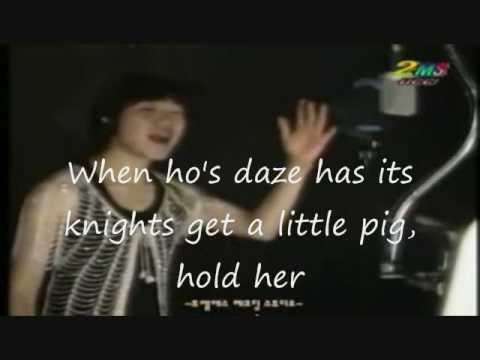 Korean boy Singing Always Be My Ba Karaoke Fail  With English Subtitles!