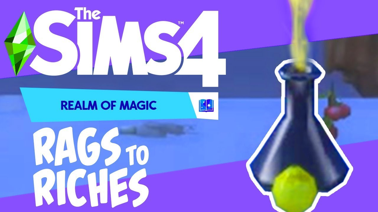 Finally Selling Potions - The Sims 4 Realm of Magic Rags ...