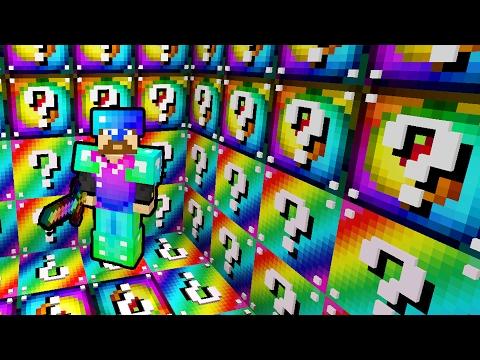 Скачать мод на радужные лаки блоки для Майнкрафт