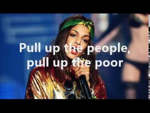 M.I.A. - Pull Up The People ( Lyrics On Screen )