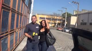 Loucura de amor em Guarulhos Declaração de Amor Alexandre porta da Empresa