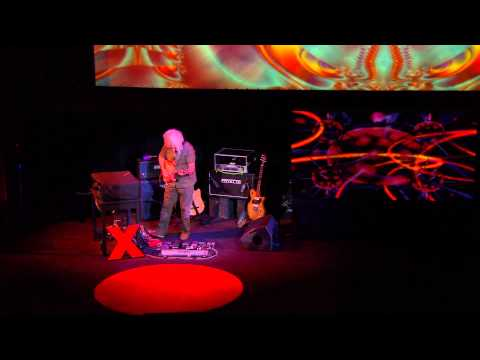 """Premiere performance for solo guitar and oud, """"only sky"""": David Torn at TEDxCaltech"""