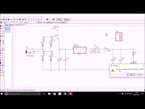 Schematic Design with Eagle PCB Design Tool