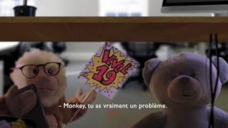 Bilou le casse cou et Monkey sont pris en otage
