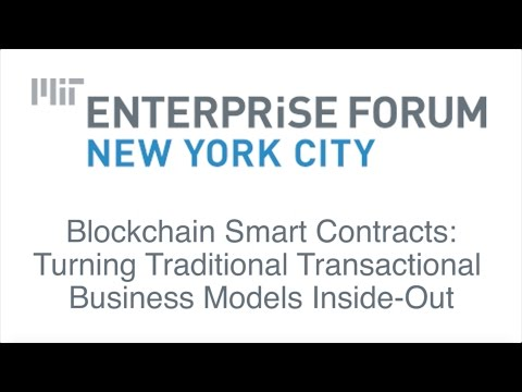 MITEFNYC - Blockchain Smart Contracts Turning Traditional Transactional Business (2016-11-16)