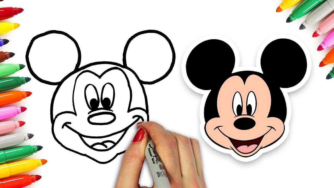 How To Draw Popular Disney Characters Drawing Compilation By