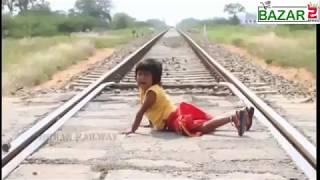 Railway accident | Sad story| i bet rone lagoge -  videos bazar