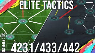 FIFA 20 - Meta ELITE 4231/433/442 Tactics Set up for TOTS To Get More Wins & Get Elite! (Post Patch)