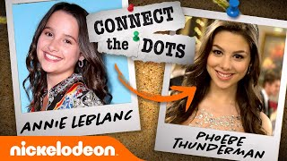 How to Get From Annie LeBlanc  to Phoebe Thunderman!  Connect the Dots